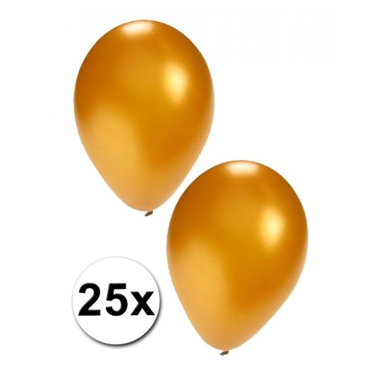 25 stuks gouden ballonnen