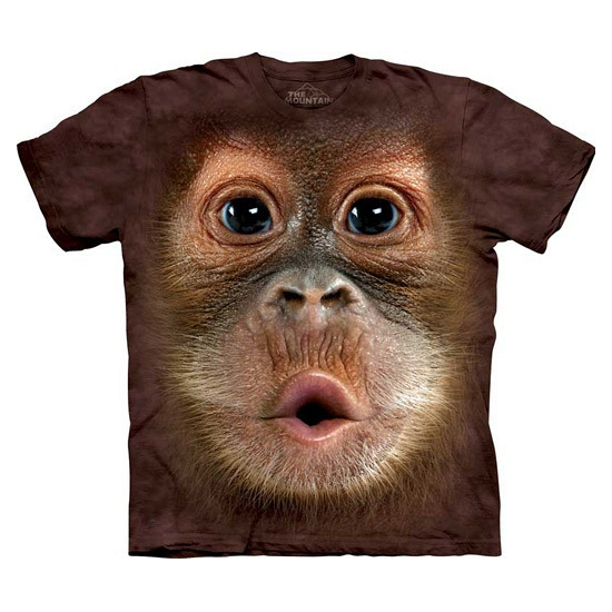 All-over print kids t-shirt Orang Oetang