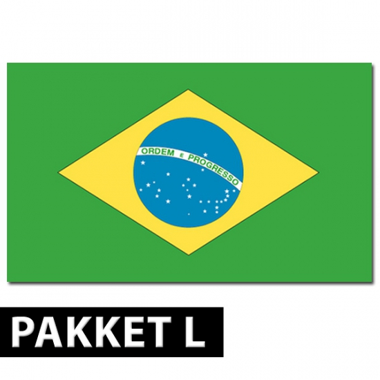 Brazilie versiering pakket groot