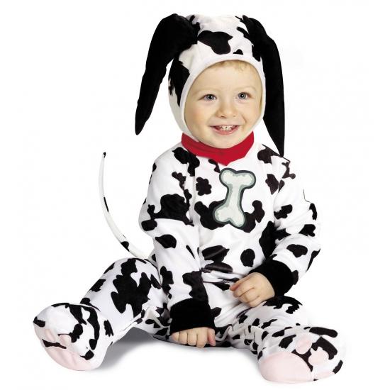 Dalmatier kostuum baby's (bron: Feestpruikenwinkel)