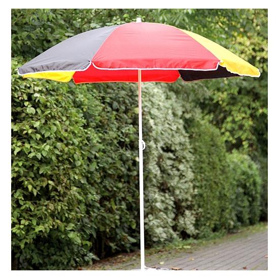 Duitse supporters parasol