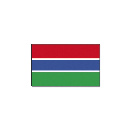 Gambiaanse vlag 90x150 cm
