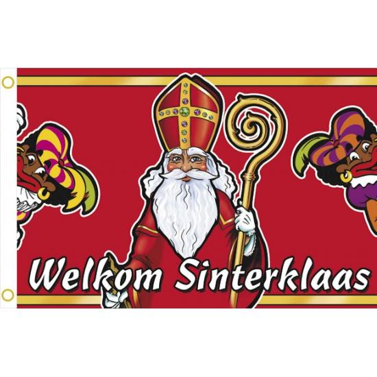 Gevelvlaggen welkom Sinterklaas thumbnail
