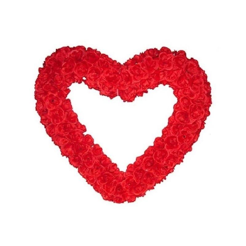 Groot bruiloft versiering hart 70 cm