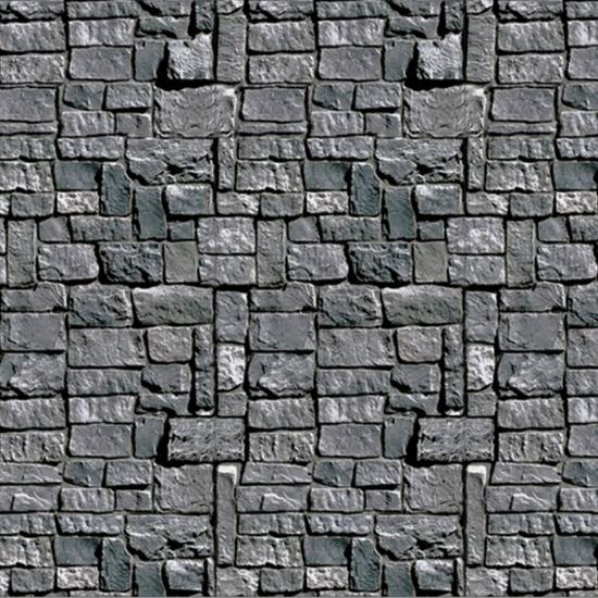 Halloween scenesetters stenen muur