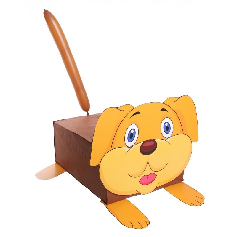 Hond suprise knutselen DIY pakket