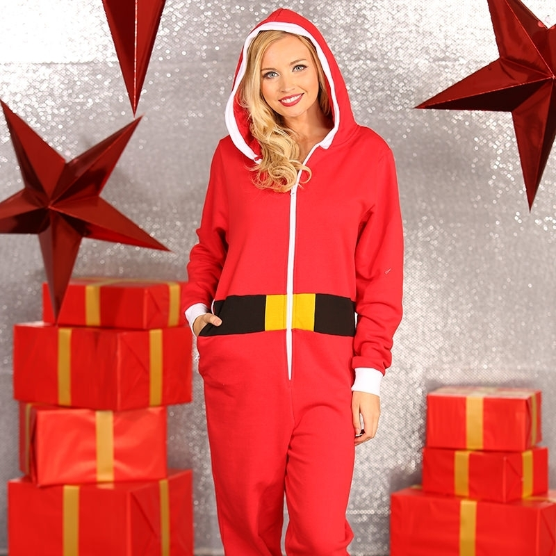 Kerst all-in-one pak voor vrouwen