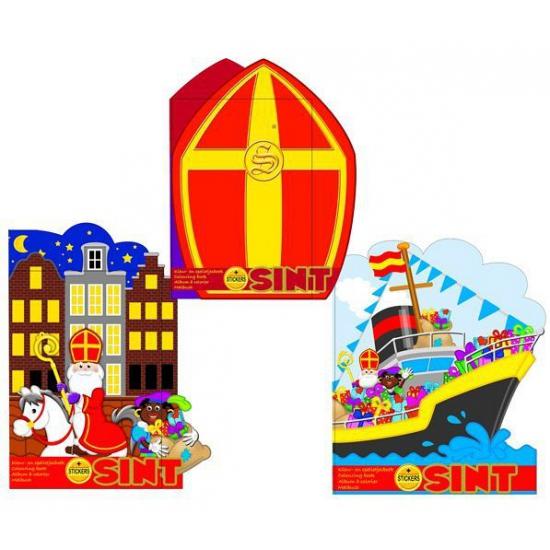 Kleurboek Sinterklaas huizen thumbnail