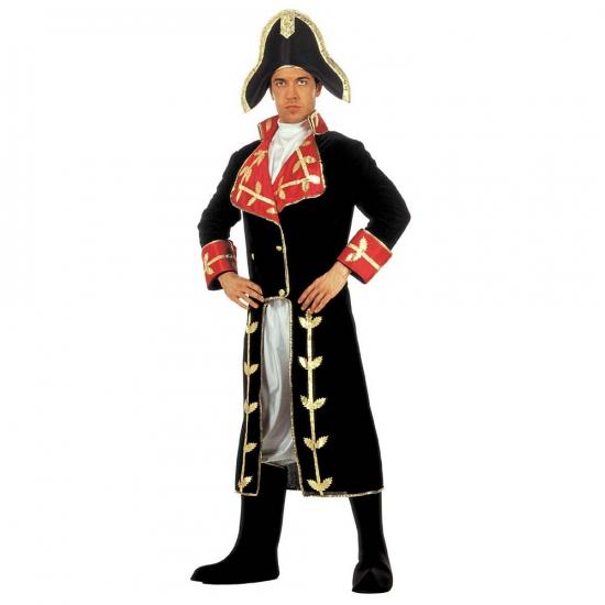 Kostuum Napoleon fluweel