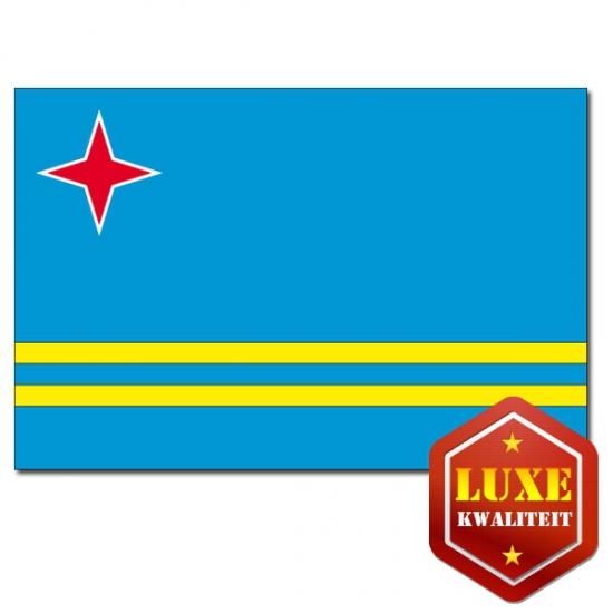 Luxe vlag van Aruba