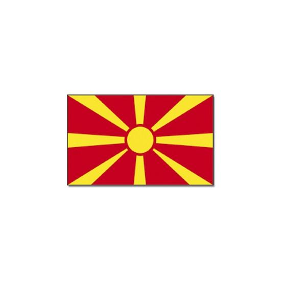 Macedonische vlag 90x150 cm