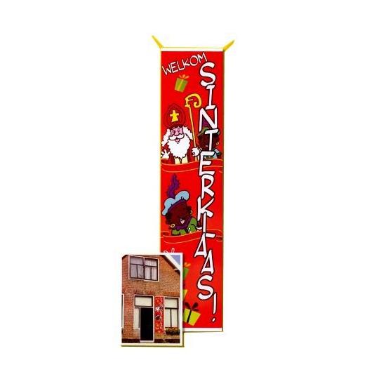 Mega vlag van Sinterklaas 206 cm thumbnail