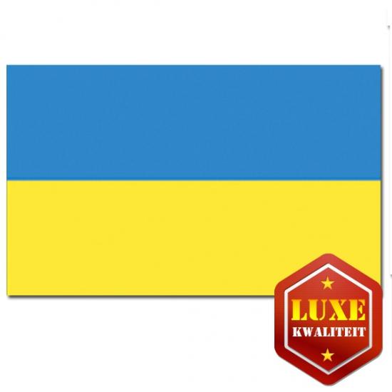 Oekra?nse vlag goede kwaliteit