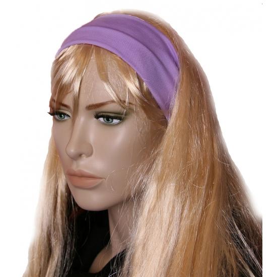 Pastel paarse dames haarband