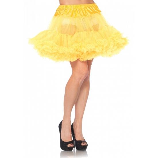 Petticoat luxe geel voor dames