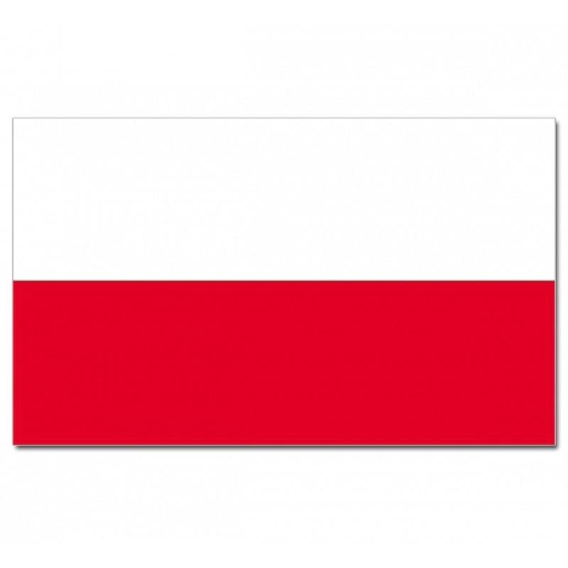 Poolse vlag goede kwaliteit