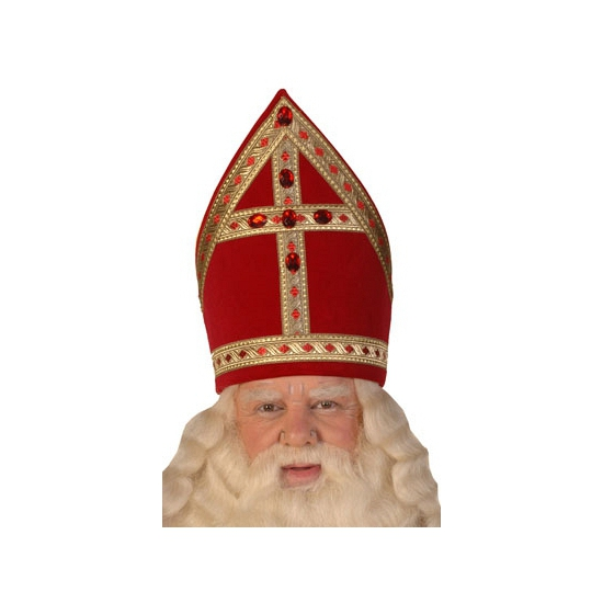 Professionele Sinterklaas mijter thumbnail