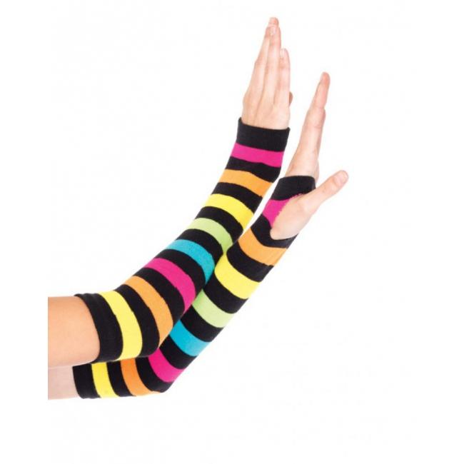 Regenboog handschoenen zonder vingers