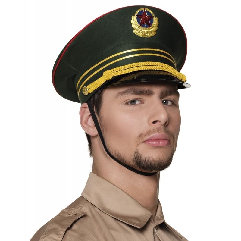 Russische militair pet groen
