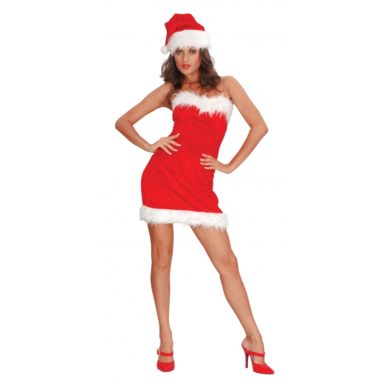 Sexy santa jurkje voor dames