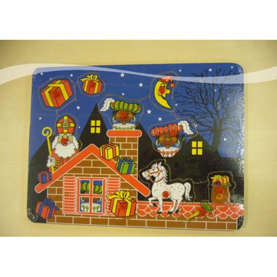 Sinterklaas kinder puzzel 22 x 30 cm thumbnail