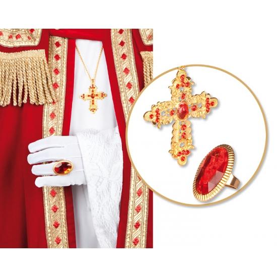 Sinterklaas setje met ring en ketting thumbnail