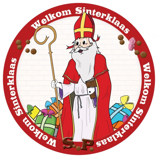 Sinterklaas thema onderzetters thumbnail