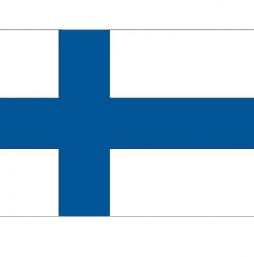 Stickertjes van vlag van Finland