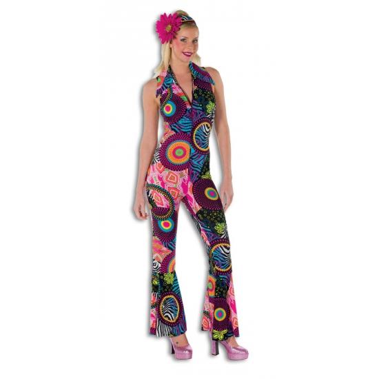 Strakke disco jumpsuit voor dames