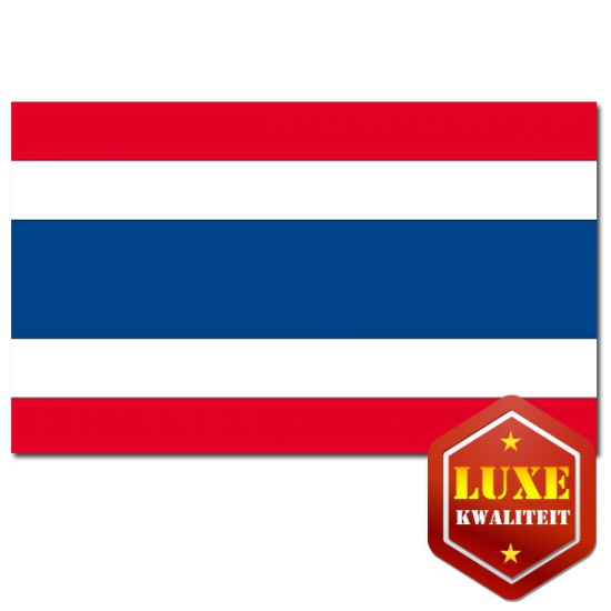 Thaise vlaggen goede kwaliteit