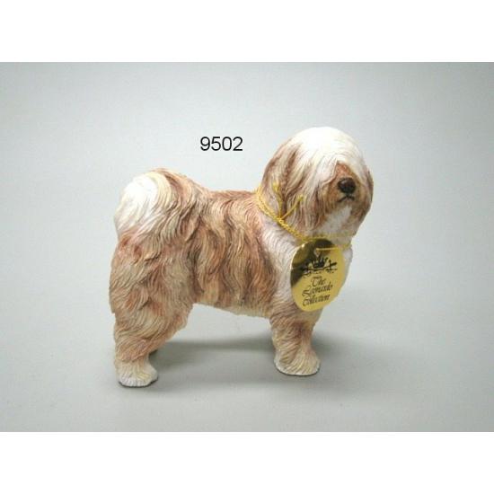 Tibetaanse Terrier decoratie beeldje 12 cm