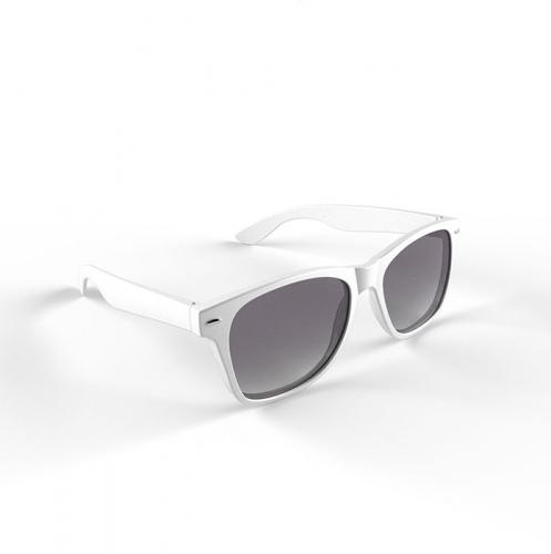 Trendy zonnebrillen wit