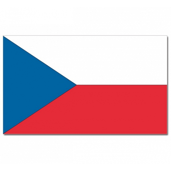 Tsjechische vlag 90x150 cm