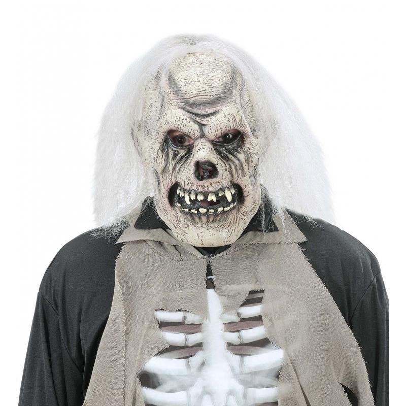 Verrotte schedel masker voor volwassenen