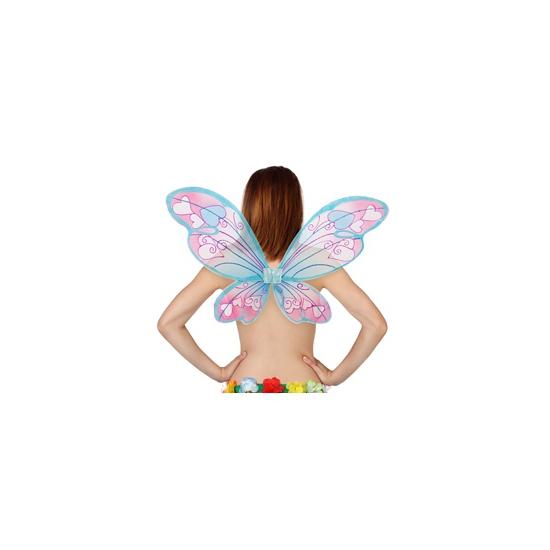 Vlinder vleugels met hartjes