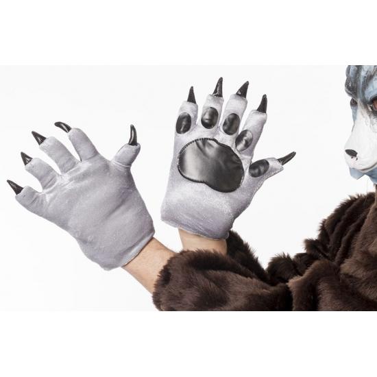 Wolven klauwen handschoenen voor volwassenen