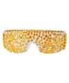 Gouden brillen met steentjes