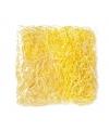 Houtkrullen deco gras geel 45 gram