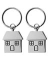 2x Housewarming sleutelhanger 7 cm