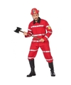 Brandweer uniform kostuum voor heren