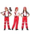 Brandweer uniform kostuum voor jongens en meisjes