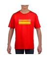 Brandweerman shirt rood voor kinderen