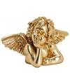 Decoratie engel van polyresin 23 cm