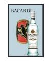 Decoratie spiegel Bacardi fles