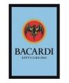 Decoratie spiegel Bacardi logo