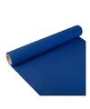 Feest-party donkerblauwe tafeldecoratie papieren tafelloper 300 x 40 cm