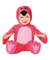 Flamingo verkleed pakje-onesie voor babys-peuters