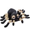 Goud met zwarte spinnen knuffels 22 cm knuffeldieren
