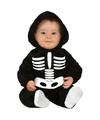 Halloween skelet kostuum voor baby-peuter
