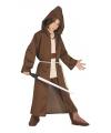 Jedi meester look-a-like carnaval-halloween kostuum voor kids
